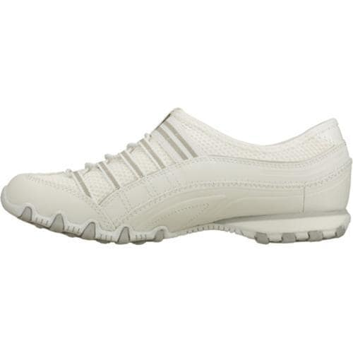 Women's Skechers Bikers Deuce White