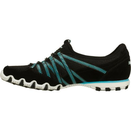 Women's Skechers Bikers Hot Ticket Black/White