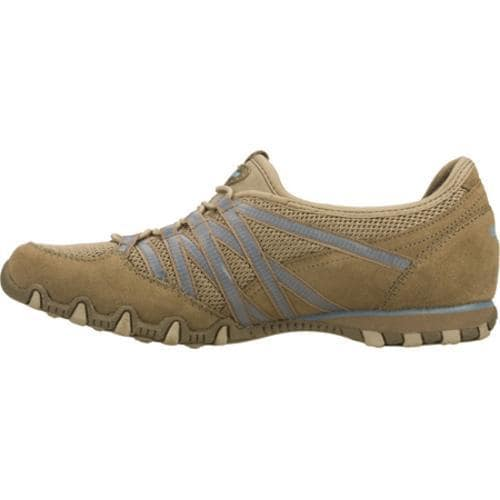 Women's Skechers Bikers Hot Ticket Brown/Blue