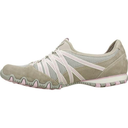Women's Skechers Bikers Hot Ticket Gray/Pink
