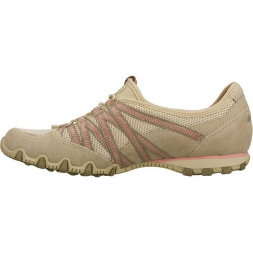 Women's Skechers Bikers Hot Ticket Natural/Brown