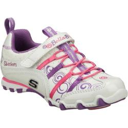 Girls' Skechers Bella Ballerina Prima Princess White/Pink