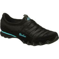 Women's Skechers Bikers Fixation Black