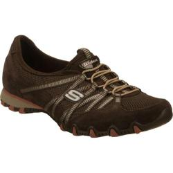 Women's Skechers Bikers Hot Ticket Brown/Orange