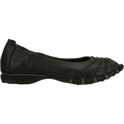 Women's Skechers Bikers Scrunchy Black