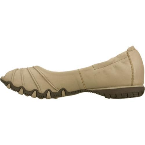 Women's Skechers Bikers Scrunchy Taupe