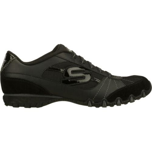 Women's Skechers Bikers Vexed Black