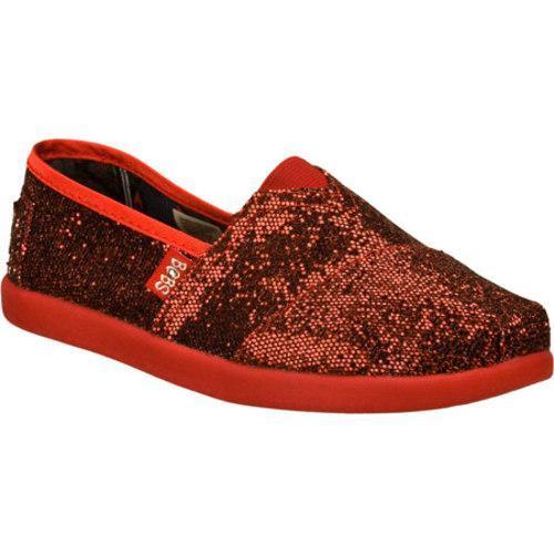 Girls' Skechers BOBS World Red/Black