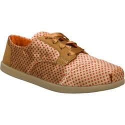 Women's Skechers BOBS World Give and Get Natural/Orange
