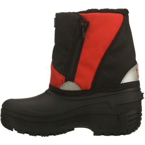 Boys' Skechers Brumal Carbuncle Black/Red