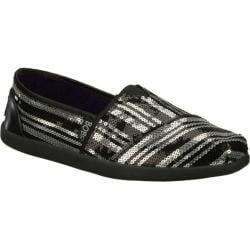 Women's Skechers BOBS World Peace Party Black