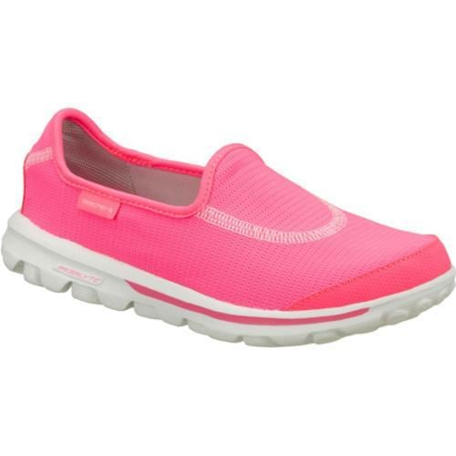 Women's Skechers GOrecovery Pink/White