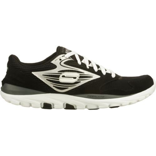 Men's Skechers GOrun Black/Silver