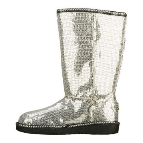 Girls' Skechers Glamslam Bonfire Glam Silver