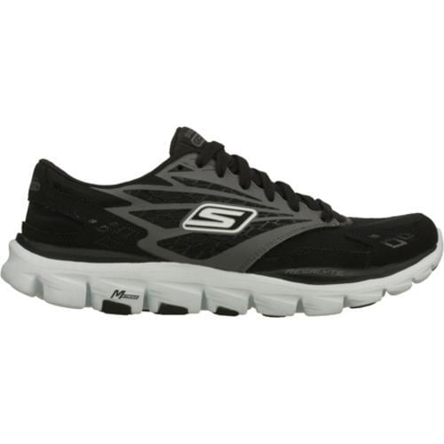 Women's Skechers GOrun Ride Black/White