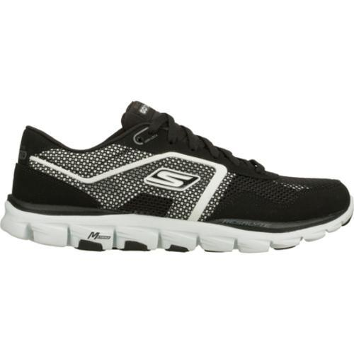 Men's Skechers GOrun Ride Ultra Black/White