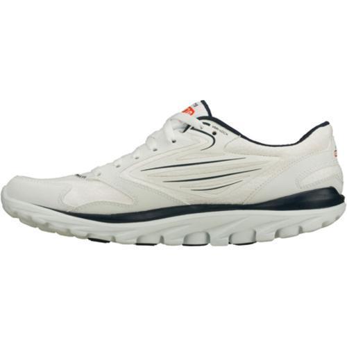 Men's Skechers GOrun All Season White/Navy