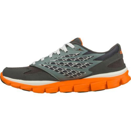 Men's Skechers GOrun Ride Gray/Orange