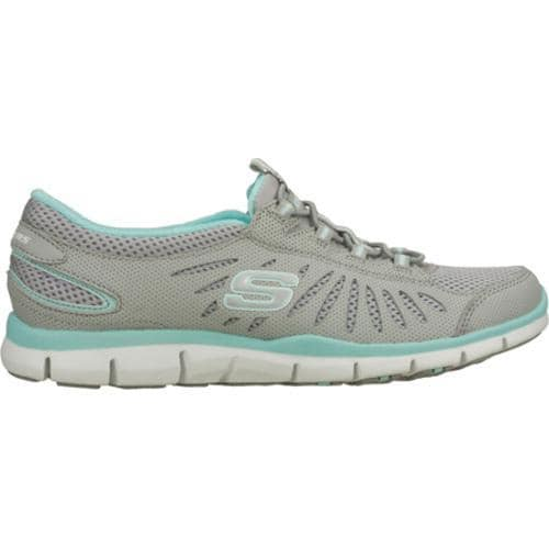 Women's Skechers Gratis Big Idea Gray/Blue