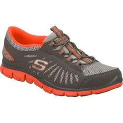 Women's Skechers Gratis Big Idea Gray/Orange