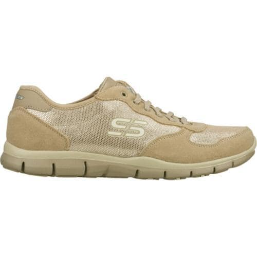 Women's Skechers Gratis Silver Screen Natural/Silver