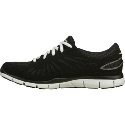 Women's Skechers Gratis Messengers Black/White