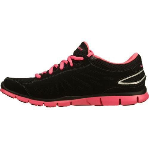 Women's Skechers Gratis Purestreet Black/Pink