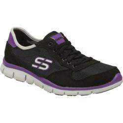 Women's Skechers Gratis Rock Party Black/Purple