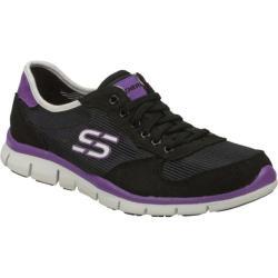 Women's Skechers Gratis Rock Party Black/Purple