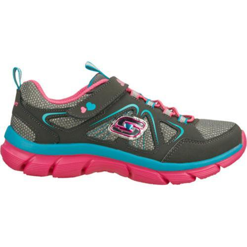 Girls' Skechers Lite Dreamz Dreamweaver Gray/Multi