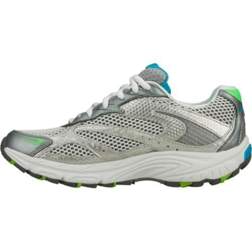 Women's Skechers Interval Legit Silver/Green