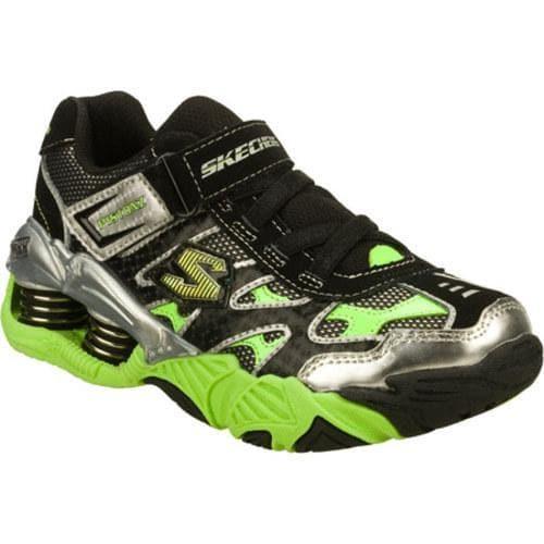 Boys' Skechers Mega Flex Pistonz Black/Green
