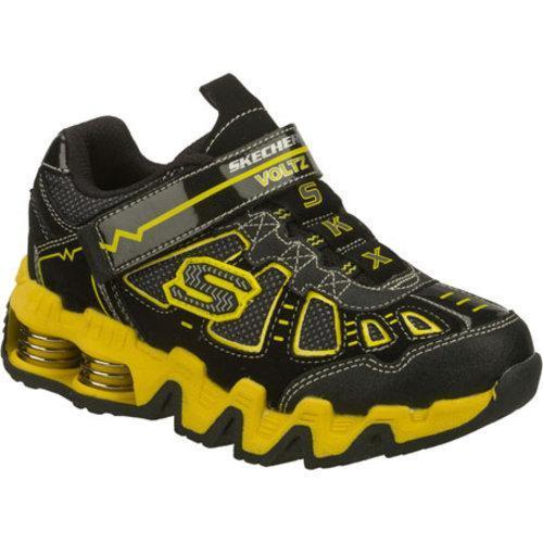 Boys' Skechers Mega Flex Voltz Black/Yellow