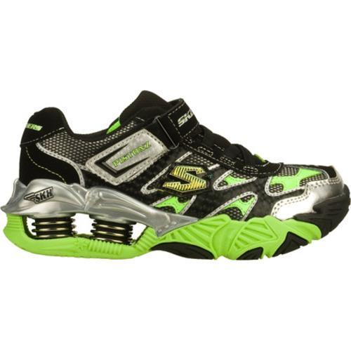 Boys' Skechers Mega Flex Pistonz Black/Green