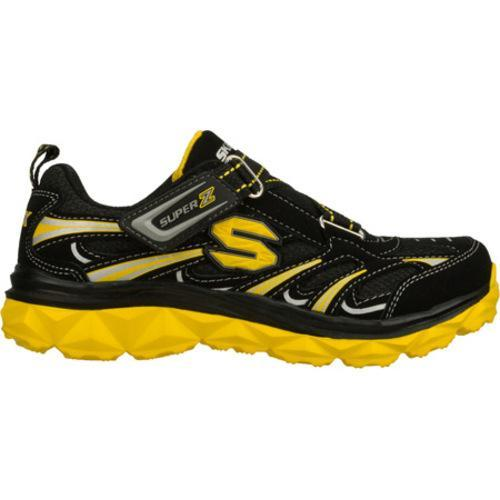 Boys' Skechers Mighty Flex Black/Yellow