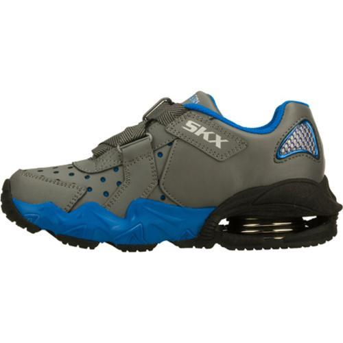 Boys' Skechers Mega Flex Alkali Gray/Blue