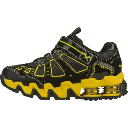 Boys' Skechers Mega Flex Voltz Black/Yellow
