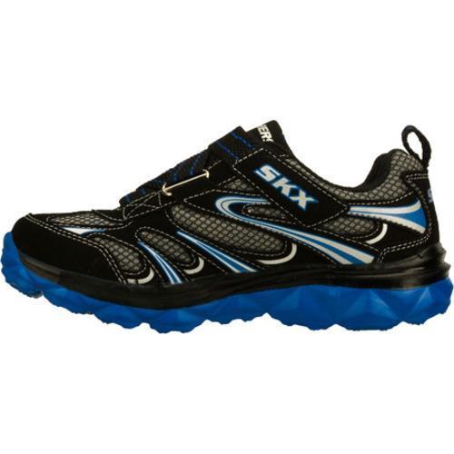Boys' Skechers Mighty Flex Black/Blue