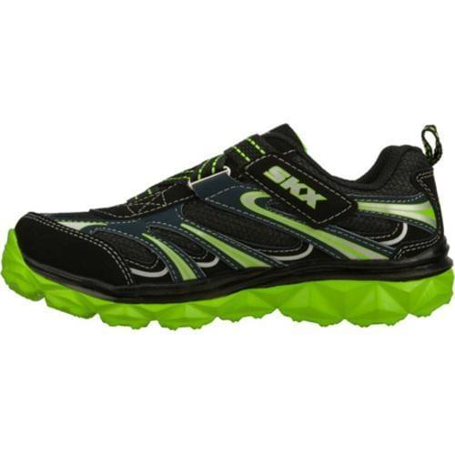 Boys' Skechers Mighty Flex Black/Green