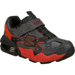 Boys' Skechers Mega Flex Alkali Zeeb Gray/Red
