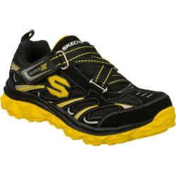 Boys' Skechers Mighty Flex Black/Yellow