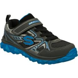Boys' Skechers Mighty Flex Hustle Gray/Blue