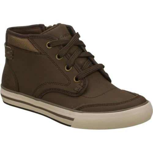 Boys' Skechers Planfix Effective Brown