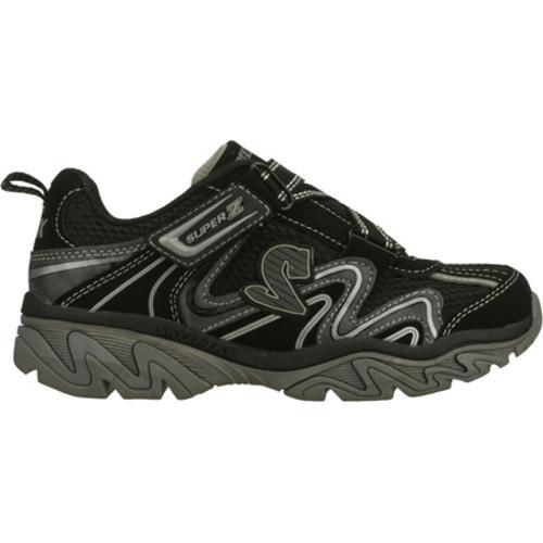 Boys' Skechers Ragged Motley Black/Gray