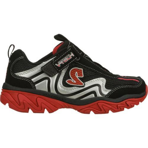 Boys' Skechers Ragged Somber Black/Red