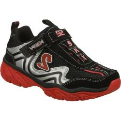 Boys' Skechers Ragged Somber Black/Red