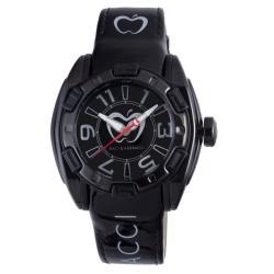 Baci Abbracci Women's Black Patent Leather Watch