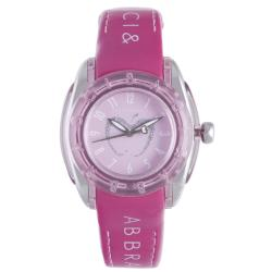 Baci Abbracci Women's Pink Patent Leather Watch