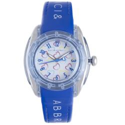 Baci Abbracci Women's Blue Patent Leather Watch