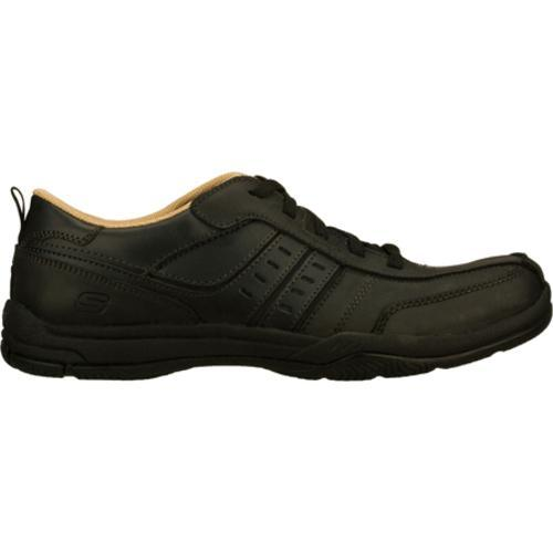 Men's Skechers Relaxed Fit Valko Ryan Black